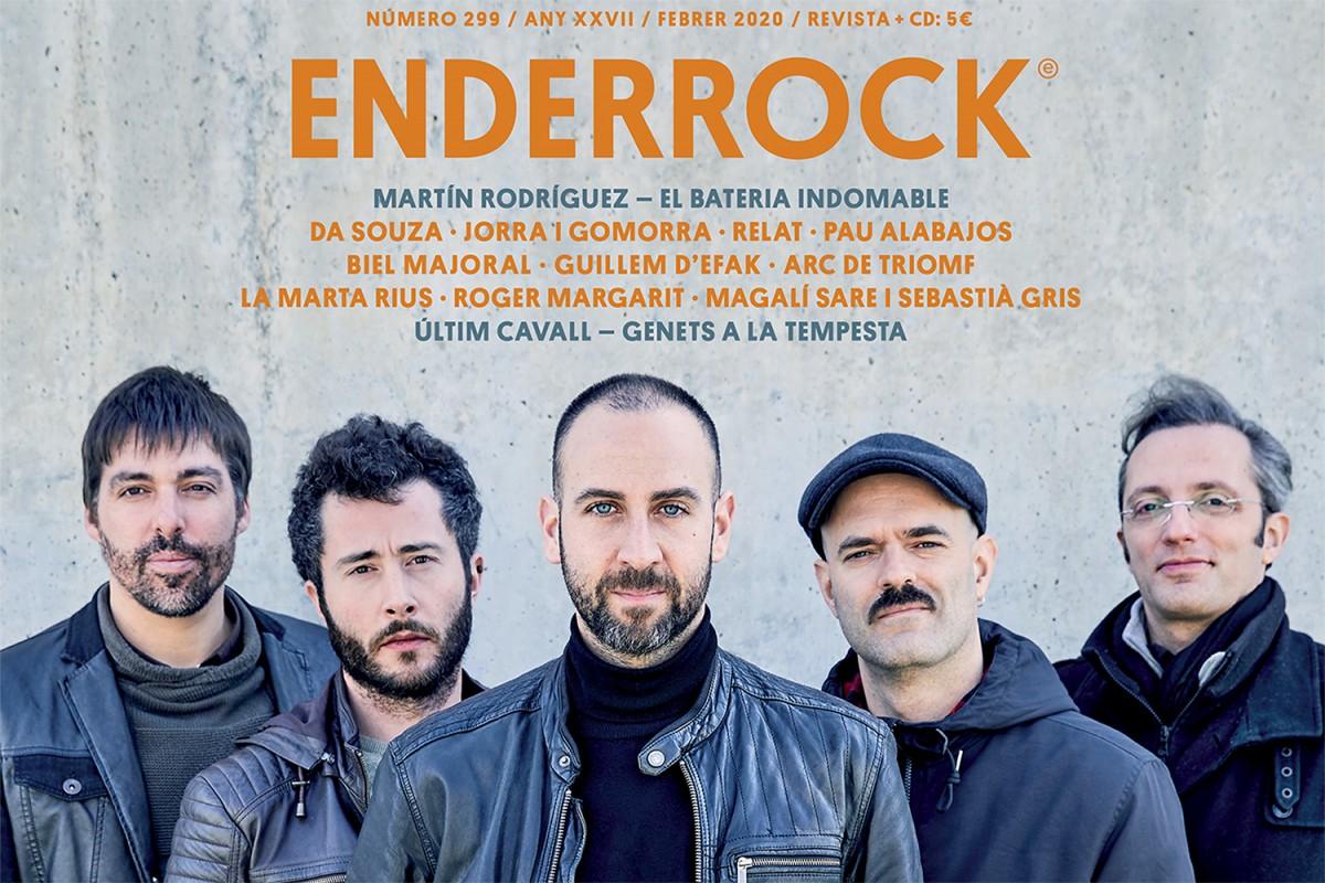 Portada Enderrock de febrer 2020