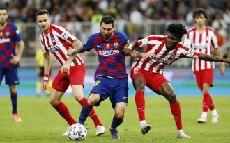 El Barça s'estavella contra el VAR i l'Atlètic de Madrid (2-3)