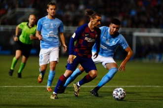 Griezmann rescata el Barça a Eivissa (1-2)