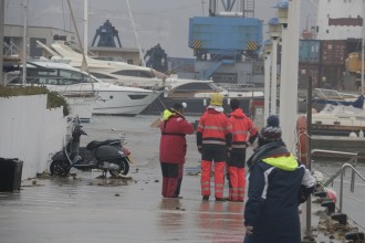 Mor un home de 69 anys a Palamós, víctima de la llevantada