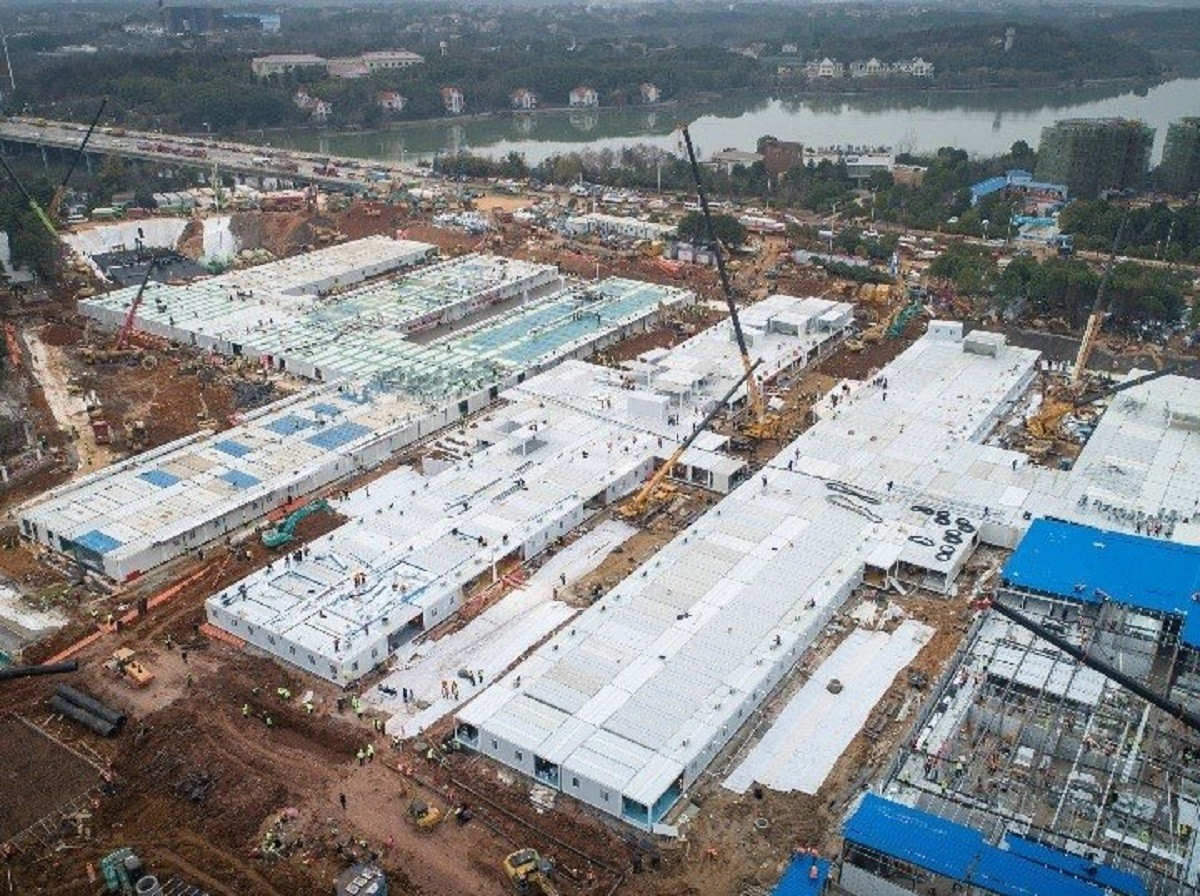 L'hospital que es va construir en deu dies a Wuhan