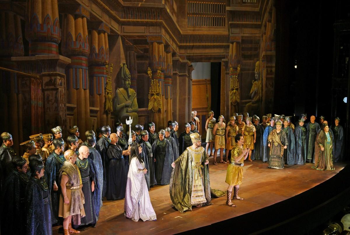 Representació d'Aida al Liceu, el passat 13 de gener