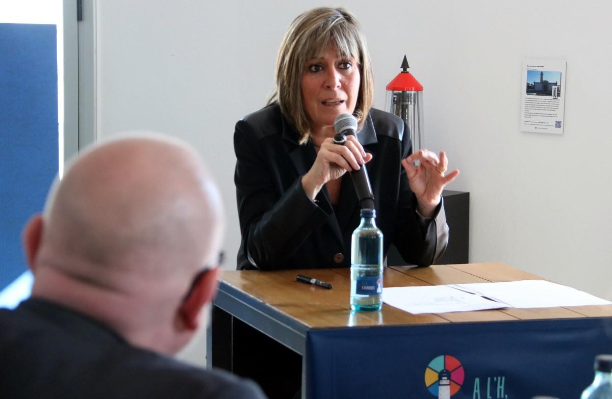 Núria Marín, en una imatge d'arxiu