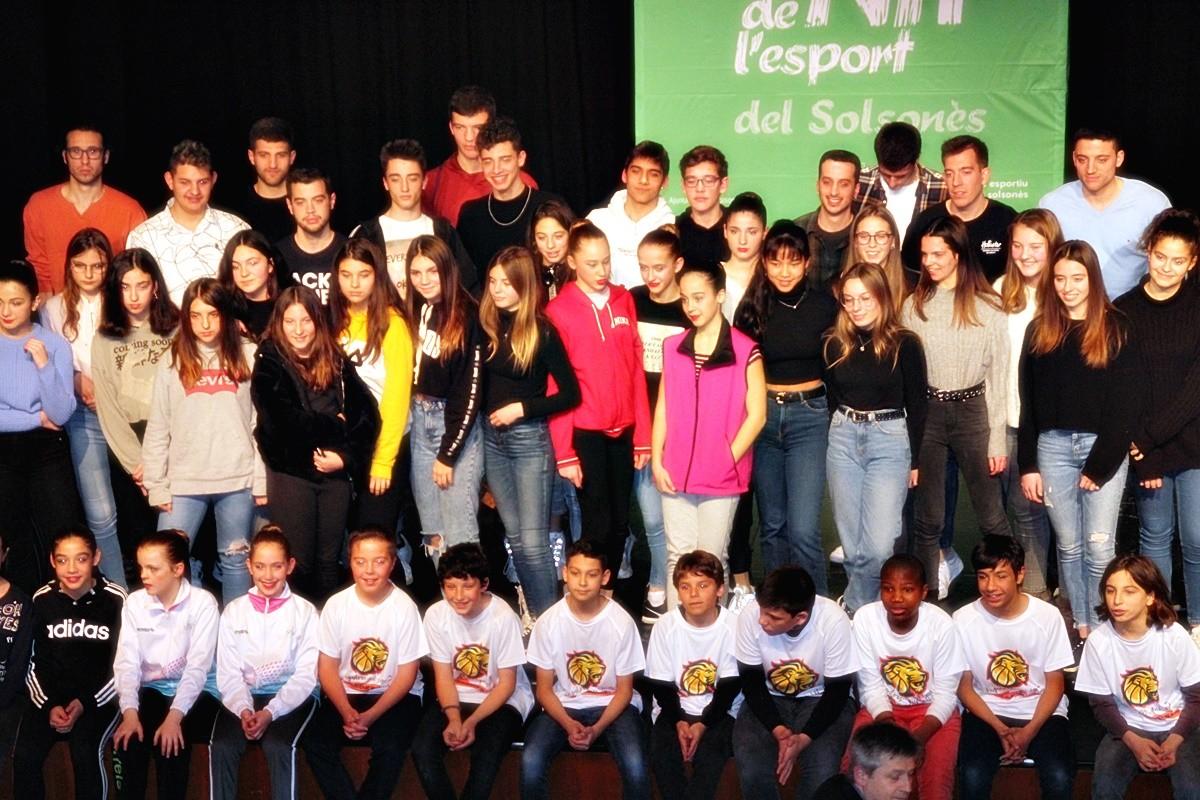Imatge de la dinovena edició, celebrada el febrer al Teatre Comarcal