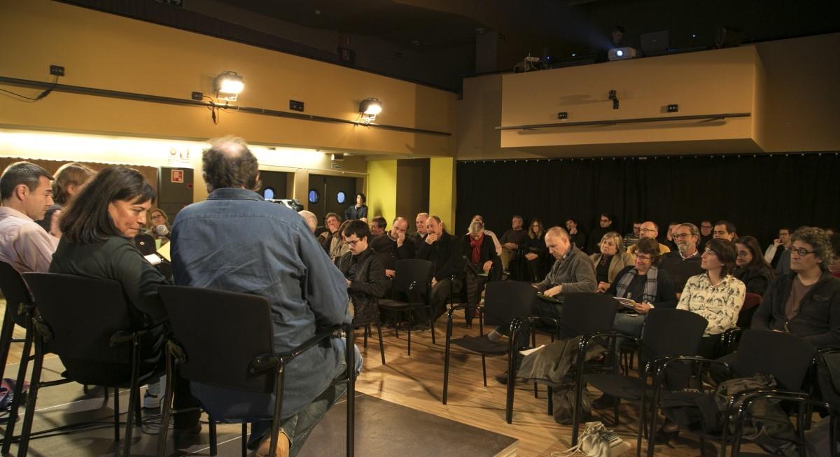 Un moment de les III Jornades Pensem-NacióXXI, coorganitzades per la Fundació Congrés de Cultura Catalana i l'Associació Catalana de Professionals.