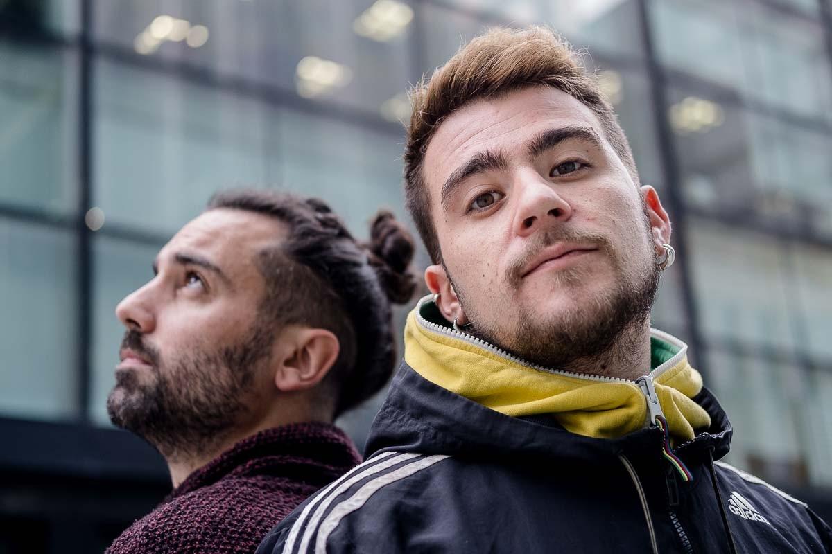 Alberto Limiñana i Pau Lobo, dos dels integrants de La Sra. Tomasa