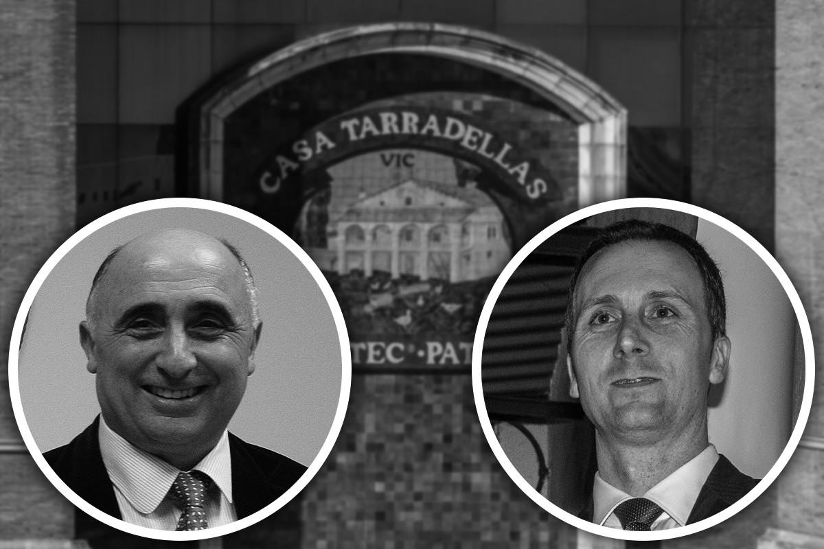 Josep Terradellas Arcarons i Josep Terradellas i Falgueras, pare i fill