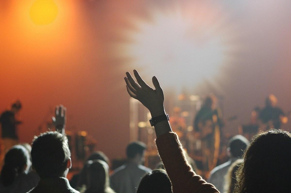 Imatge d'un concert