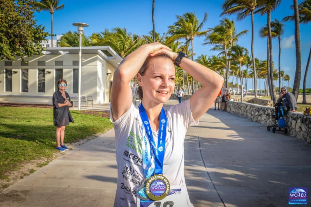 La danesa Madsen fa història a la prova de les set maratons en set dies en set continents