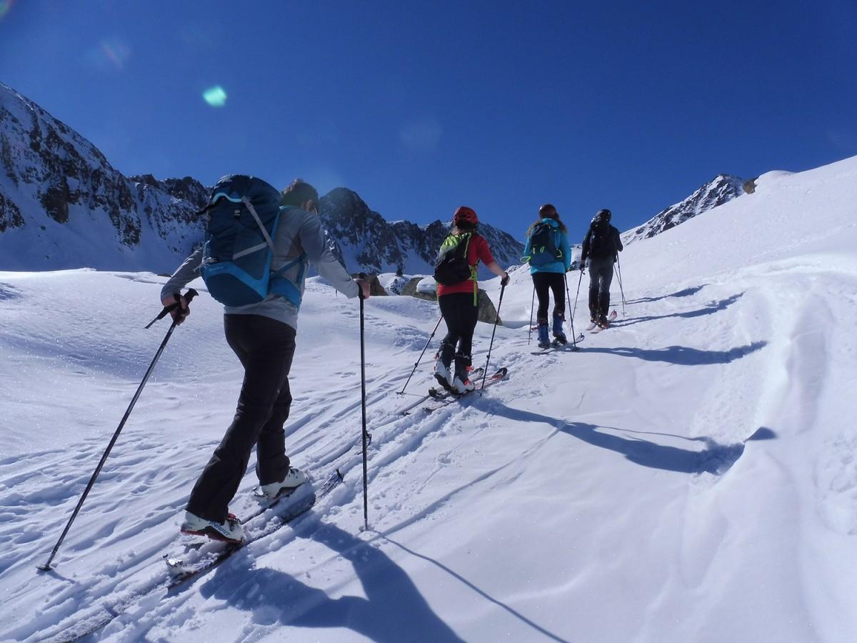 Els esquiadors passaran pels cim del Puigmal, el pic de Finestrelles i el pic de la Fossa del Gegant.