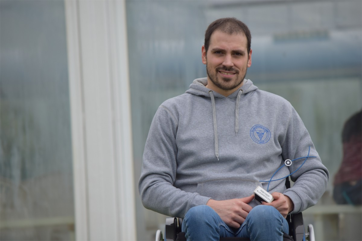 Conversa amb el nedador paralímpic, Premi Fosbury 2018 al millor esportista de l'any per votació popular