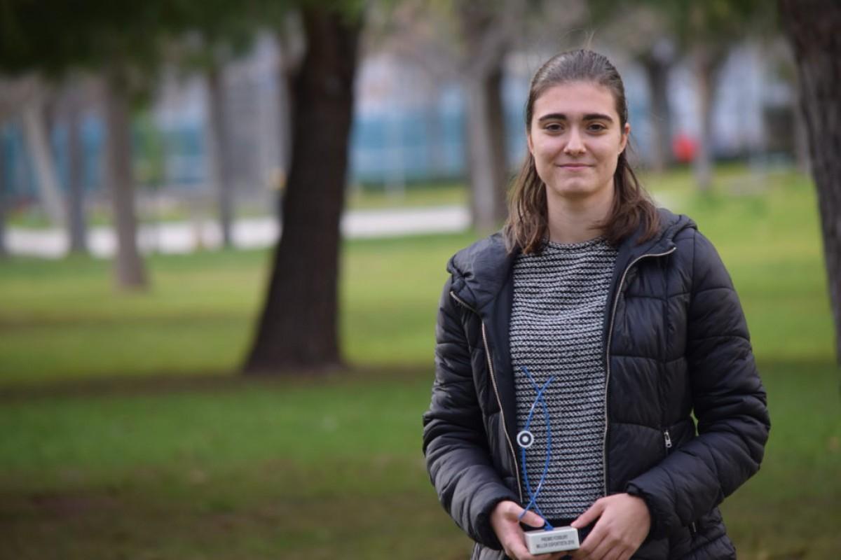 Conversa amb la jugadora de pilota valenciana, guanyadora del Premi Fosbury 2018