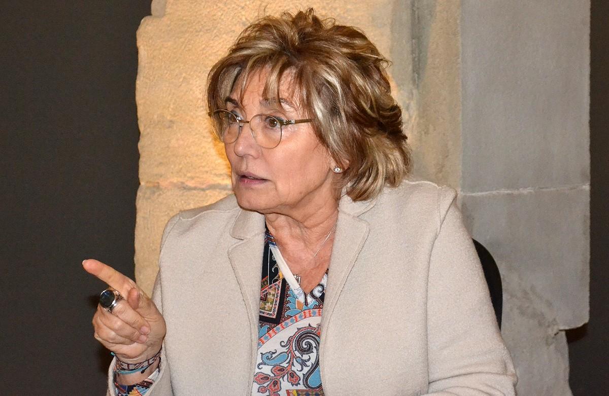 La doctora Mercè Boada, durant l'entrevista
