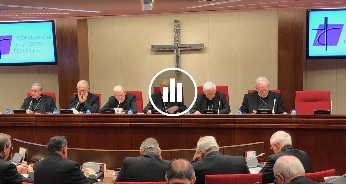 Imatge d'arxiu d'un acte de la Conferència Episcopal Espanyola.