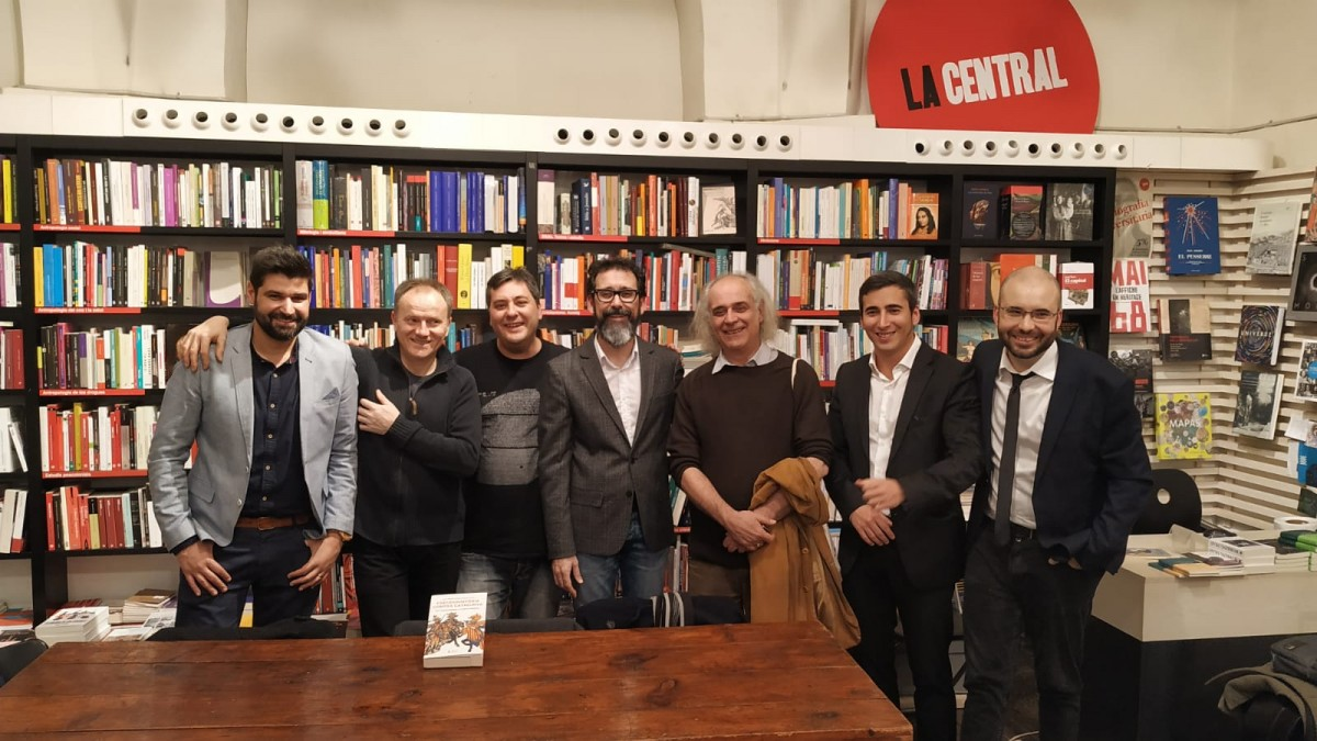 Vicent Baydal, Xevi Camprubí, Cèsar Sánchez, Albert Velasco, Stefano Cingolani, Guillem Fornés i Cristian Palomo.