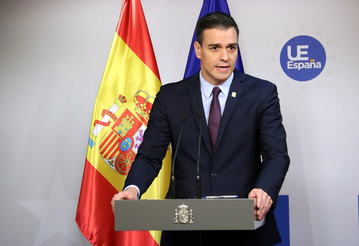 Pedro Sánchez, aquest divendres des de Brussel·les