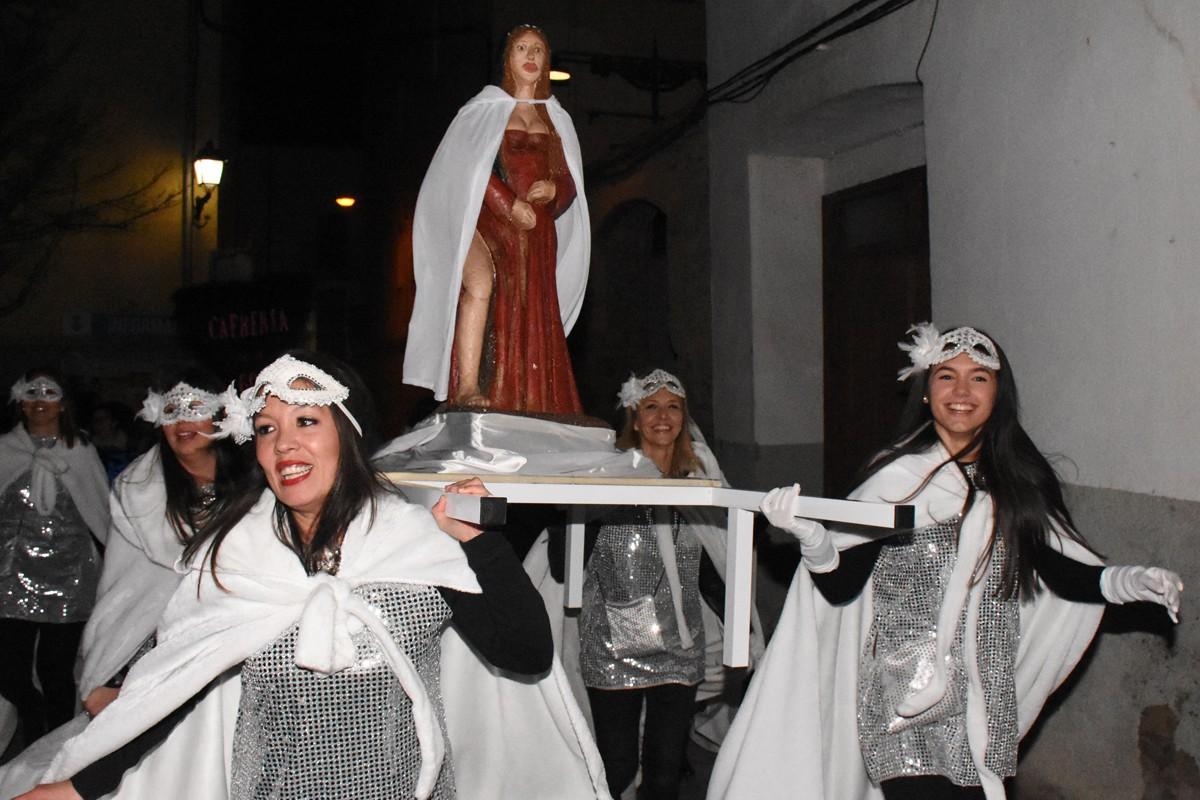 Sallent ha donat inici als actes del Carnaval