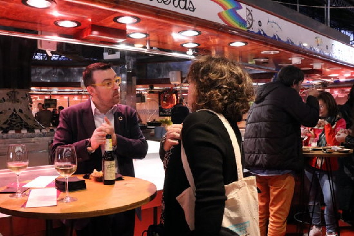 La cita inaugural del Barcelona Tech Spirit, al mercat de la Boqueria