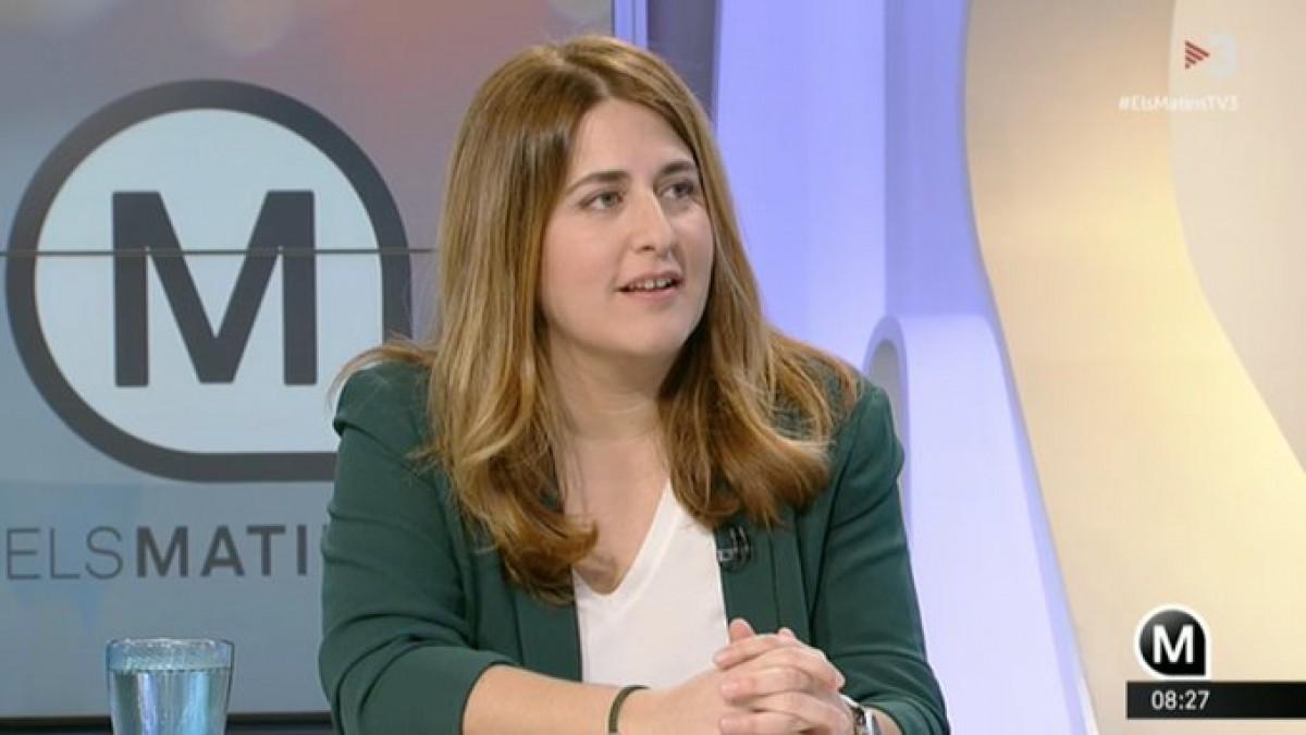 Marta Pascal, avui a TV3