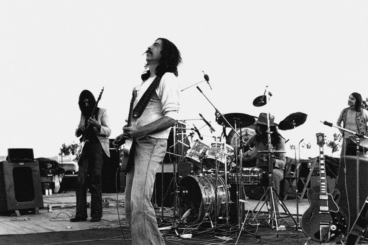 Eduardo Bort al Calella Càmping Rock (1977)