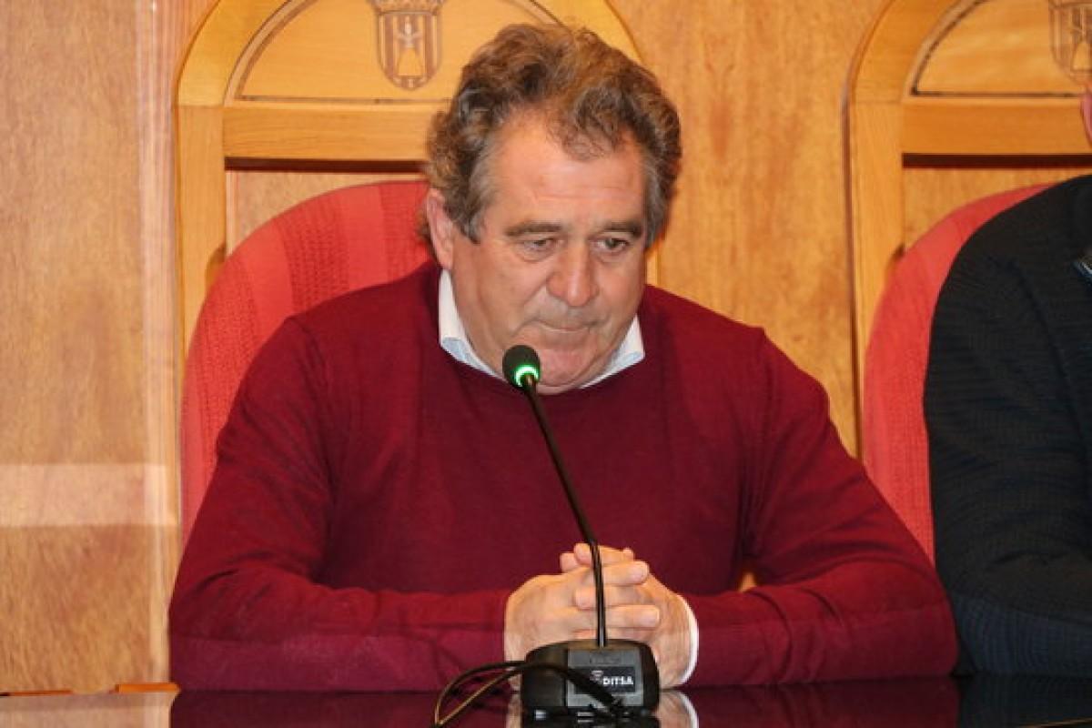 L'alcalde de Montblanc, Josep Andreu.