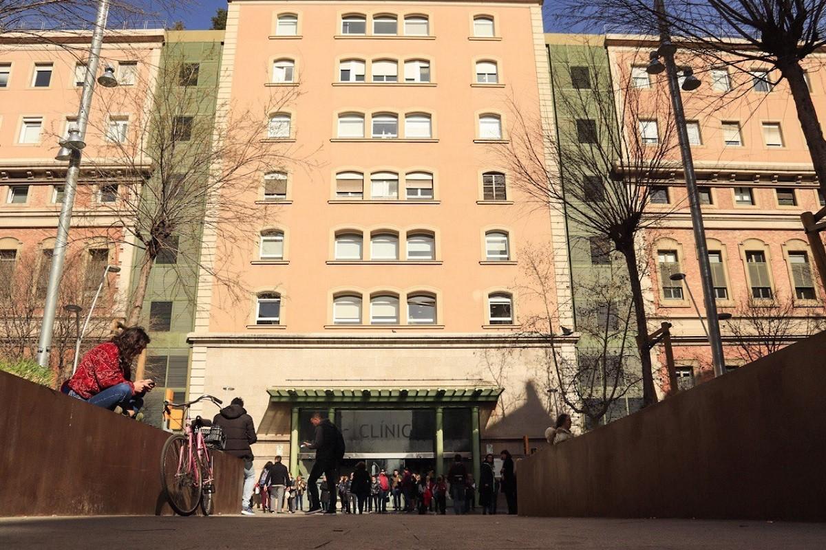 Imatge de l'hospital Clínic de Barcelona