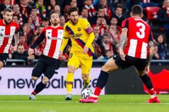 El Barça, eliminat dels quarts de la Copa per un gol al temps afegit (1-0)