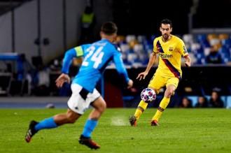Un Barça irregular esgarrapa un empat a Nàpols (1-1)