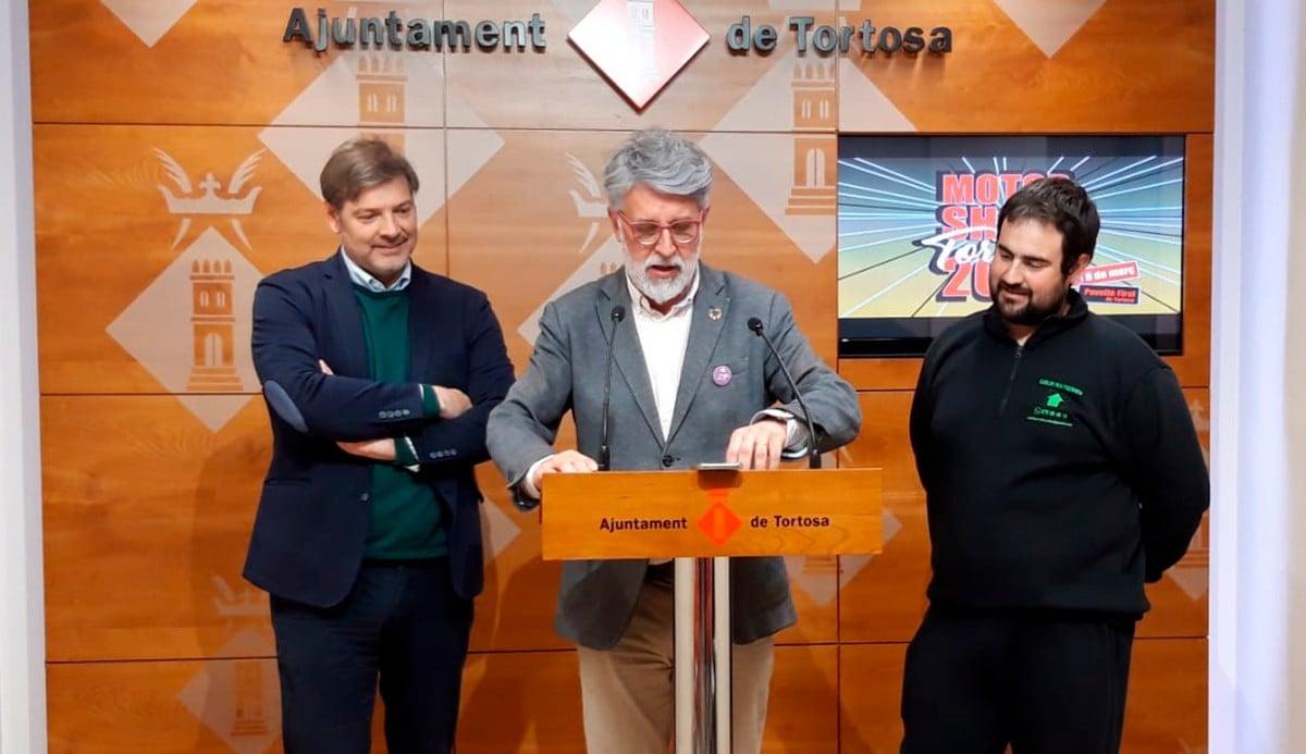 Presentació de la primera edició, a l'ajuntament de Tortosa este dimecres.