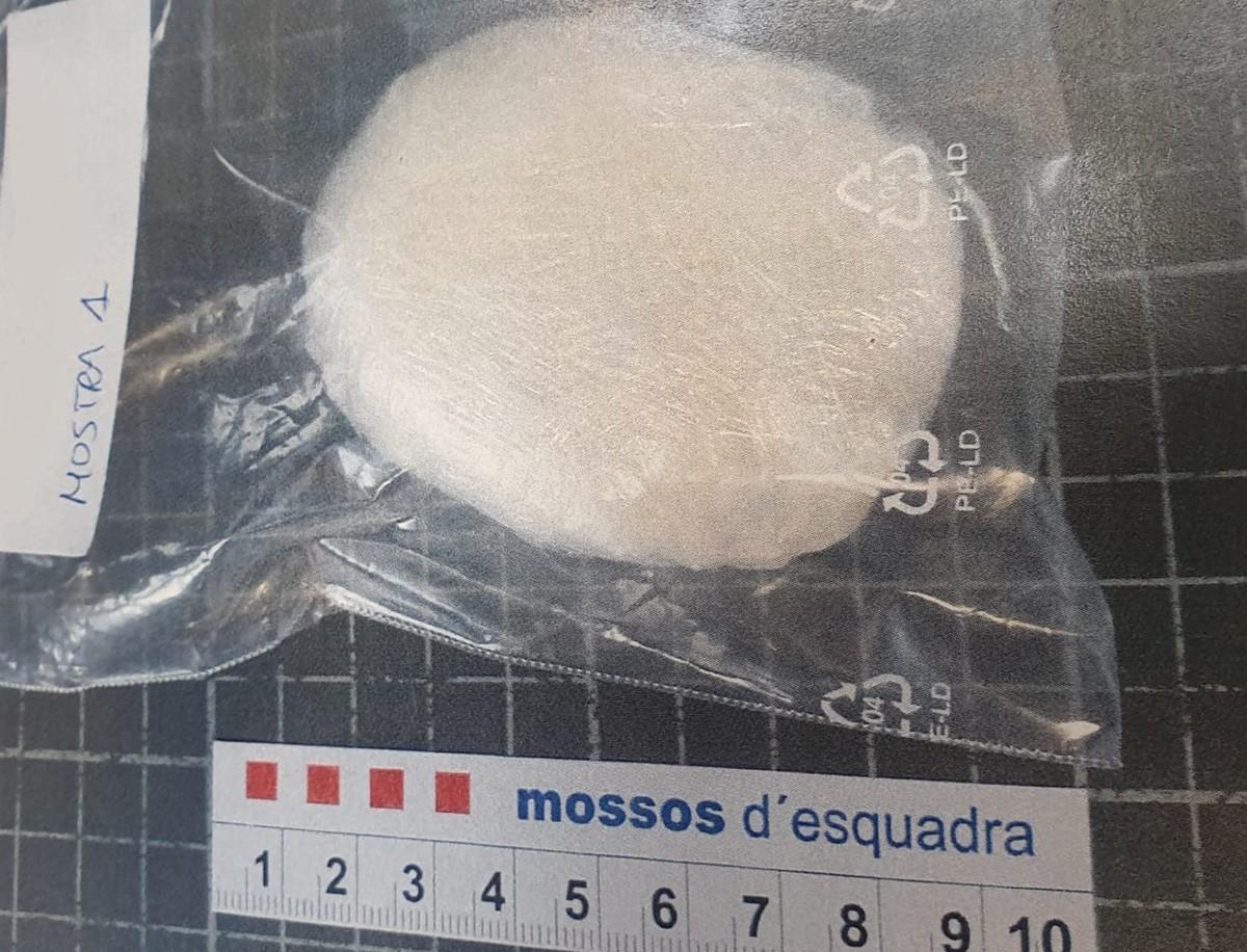 La droga comissada pels Mossos