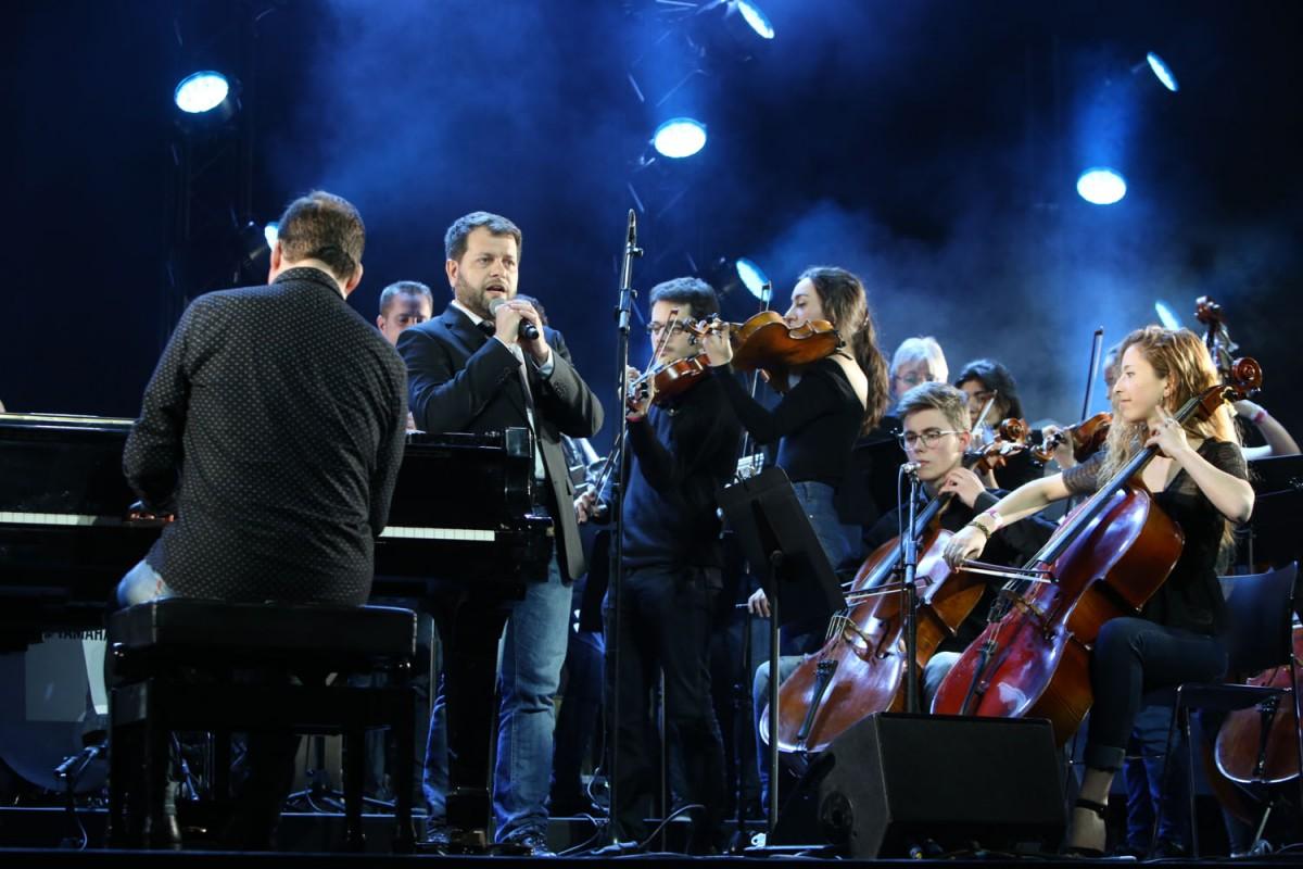 Roger Padullés i La Simfònica de Corda i Cobla de Catalunya