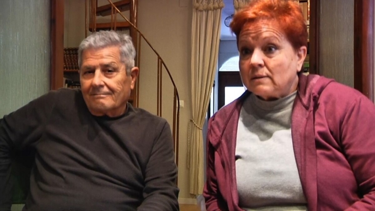 Guillem Agulló i Carme Salvador, pares del jove Guillem Agulló, assassinat per l'extrema dreta el 1993.