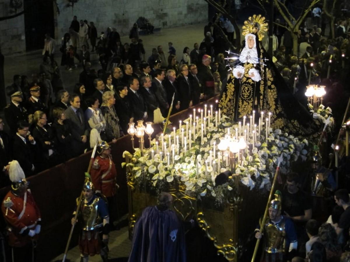 Una processó a Lleida