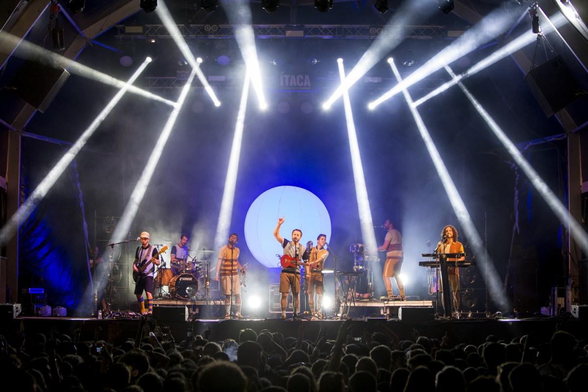 Oques Grasses en concert a la passada edició