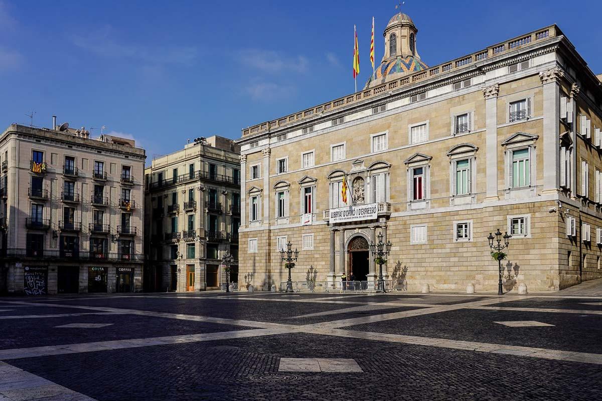 El Palau de la Generalitat en una imatge d'arxiu