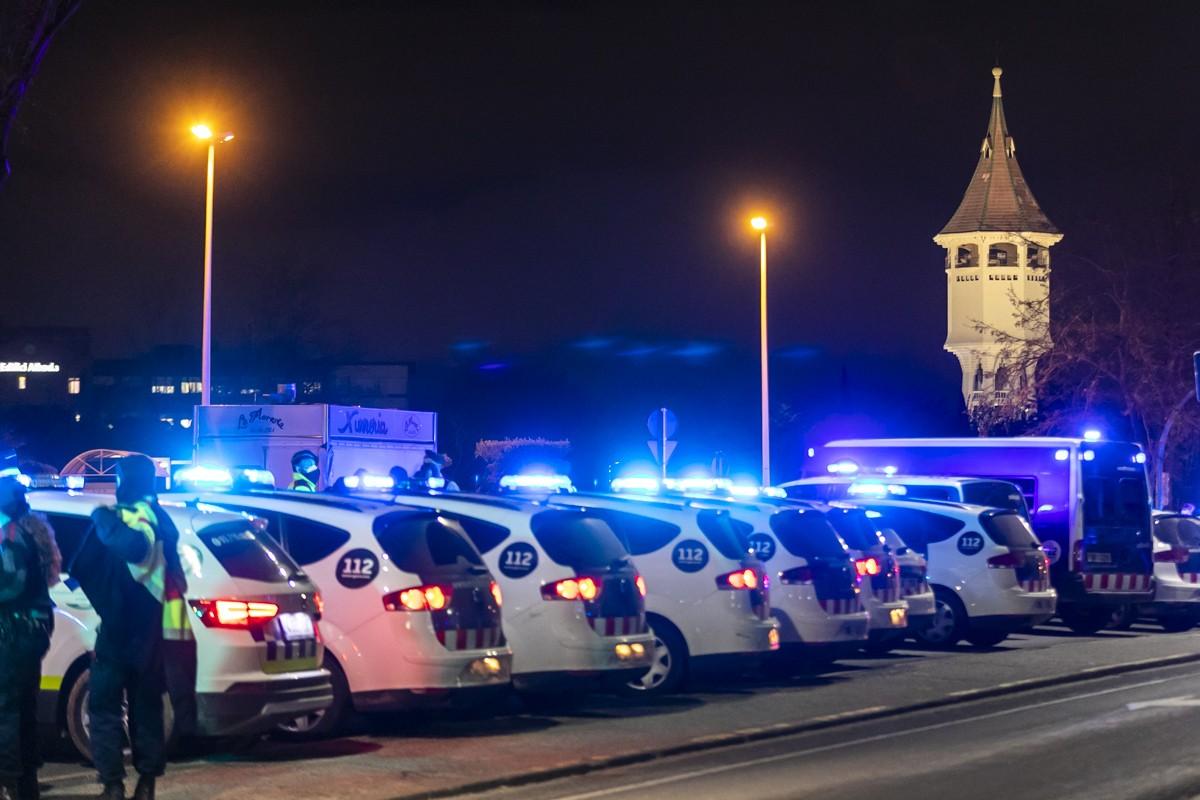 Els diversos vehicles policials