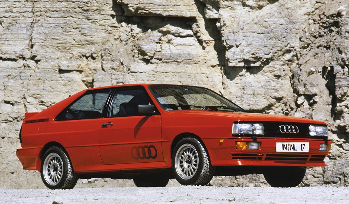 El primer dels Audi Quattro
