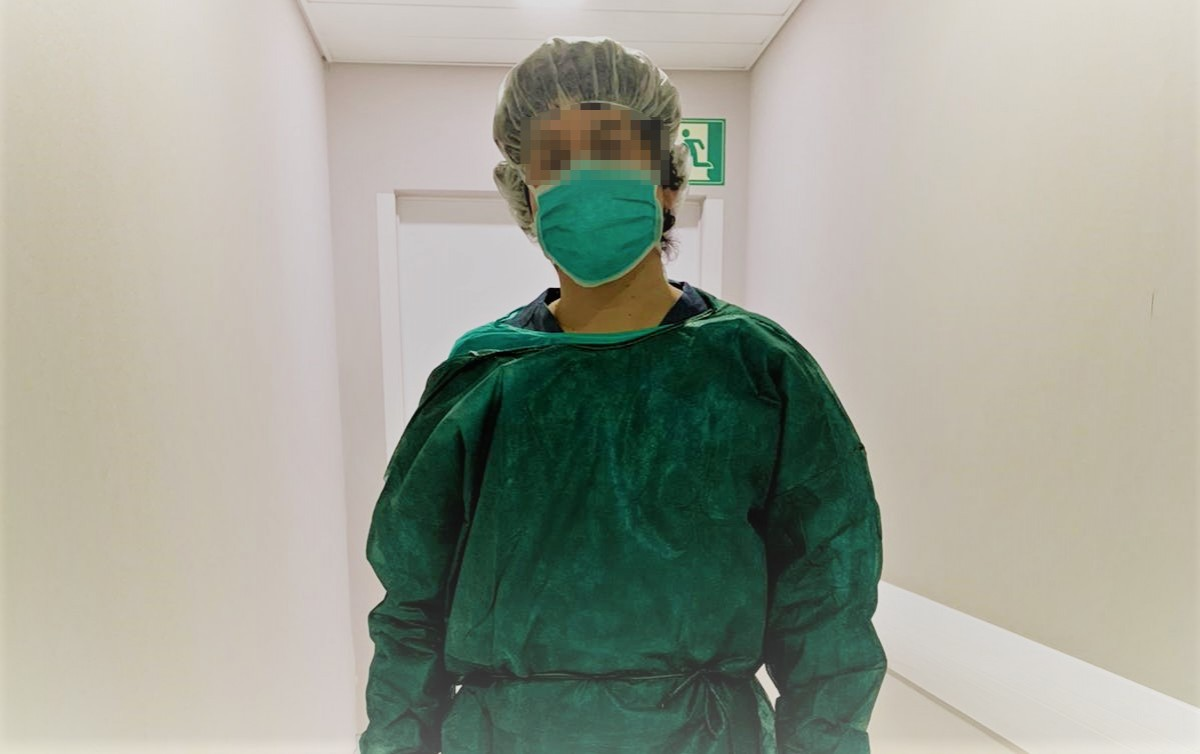 L'Àlex és membre del personal sanitari d'un hospital privat de Barcelona