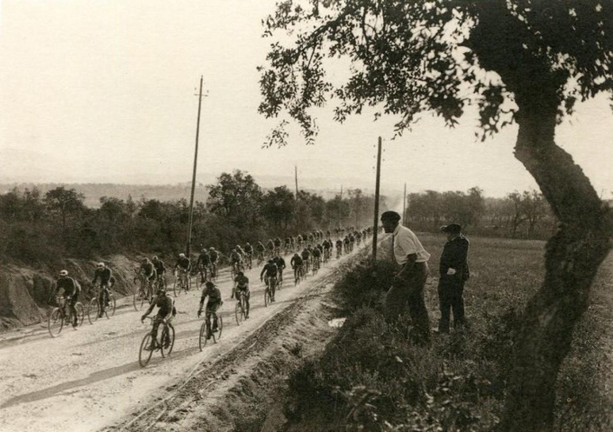Una imatge de la Volta de 1920, la primera edició després de l'aturada per la Gran Guerra