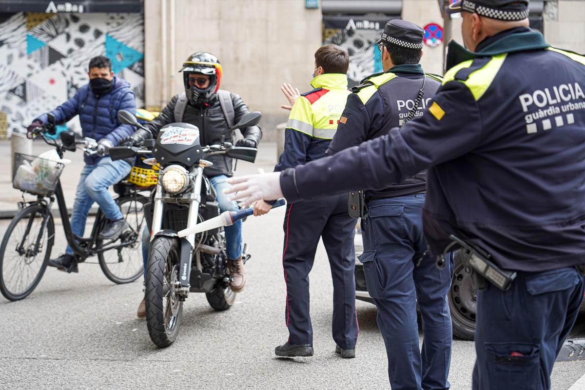Control policial a Barcelona
