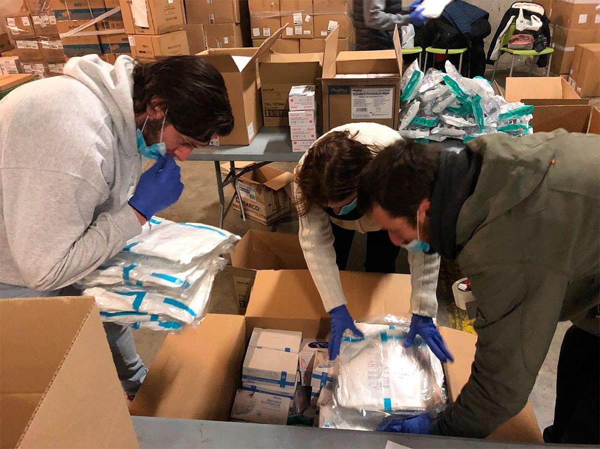 El Departament de Treball porta la gestió logística del material