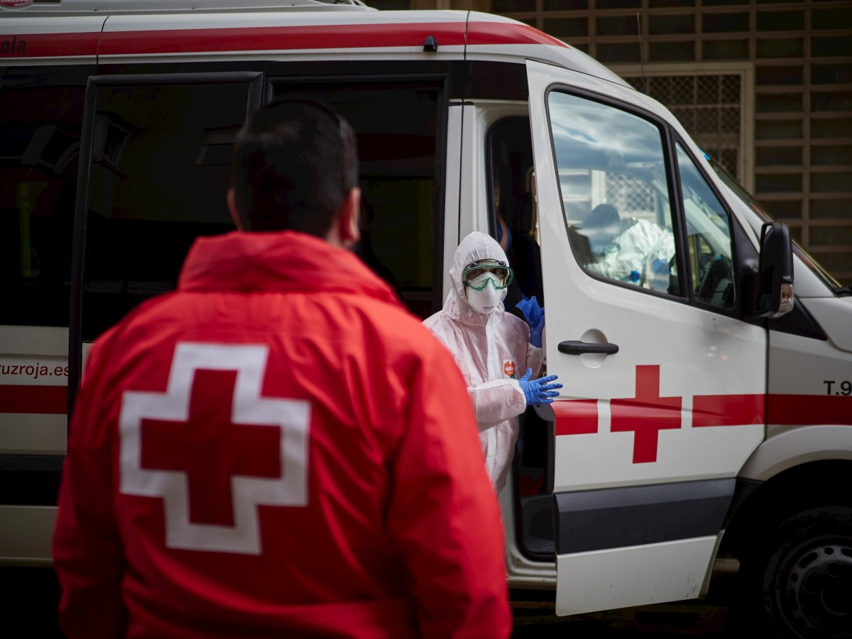 Un equip sanitari en plena pandèmia