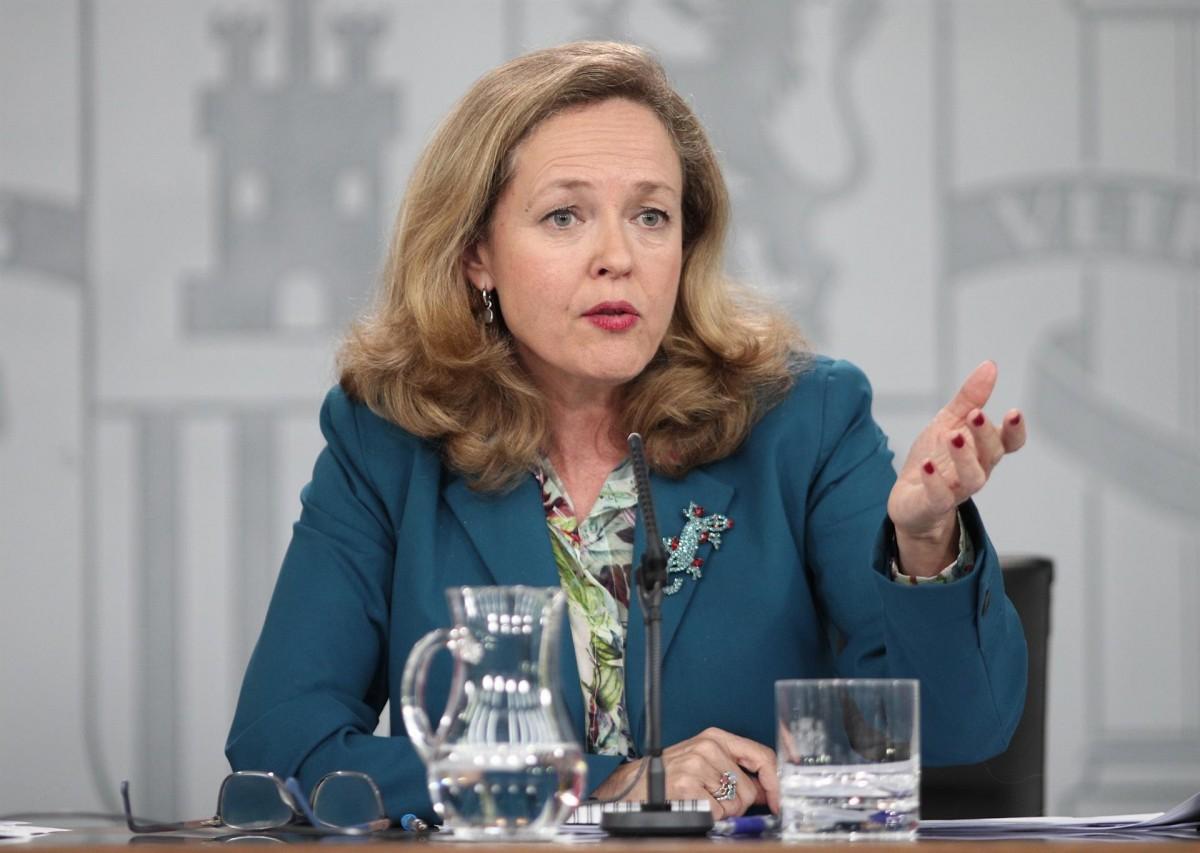 La vicepresidenta econòmica Nadia Calviño en una imatge d'arxiu