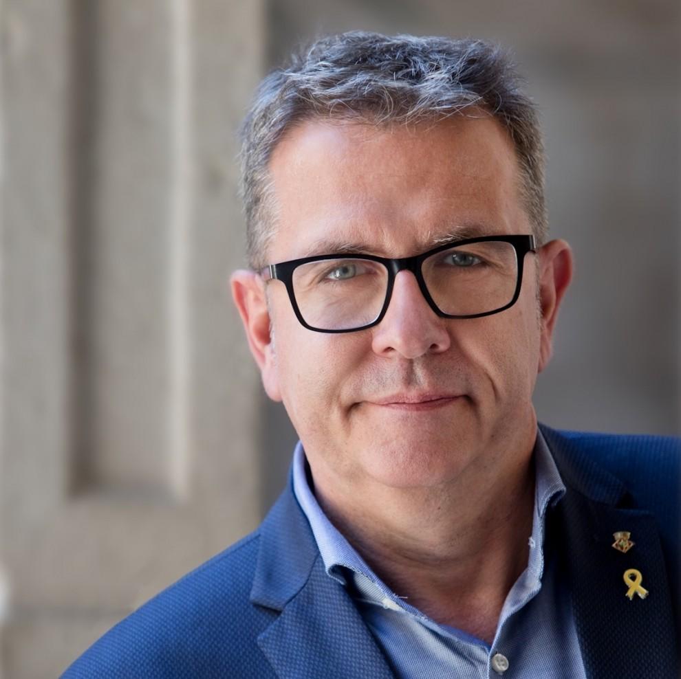 Joan Talarn, president de la Diputació de Lleida