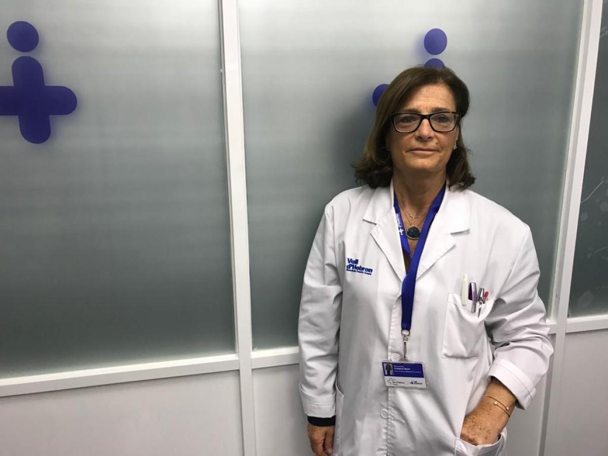 La doctora Magda Campins, cap d'Epidemiologia i Medicina Preventiva de la Vall d'Hebron.