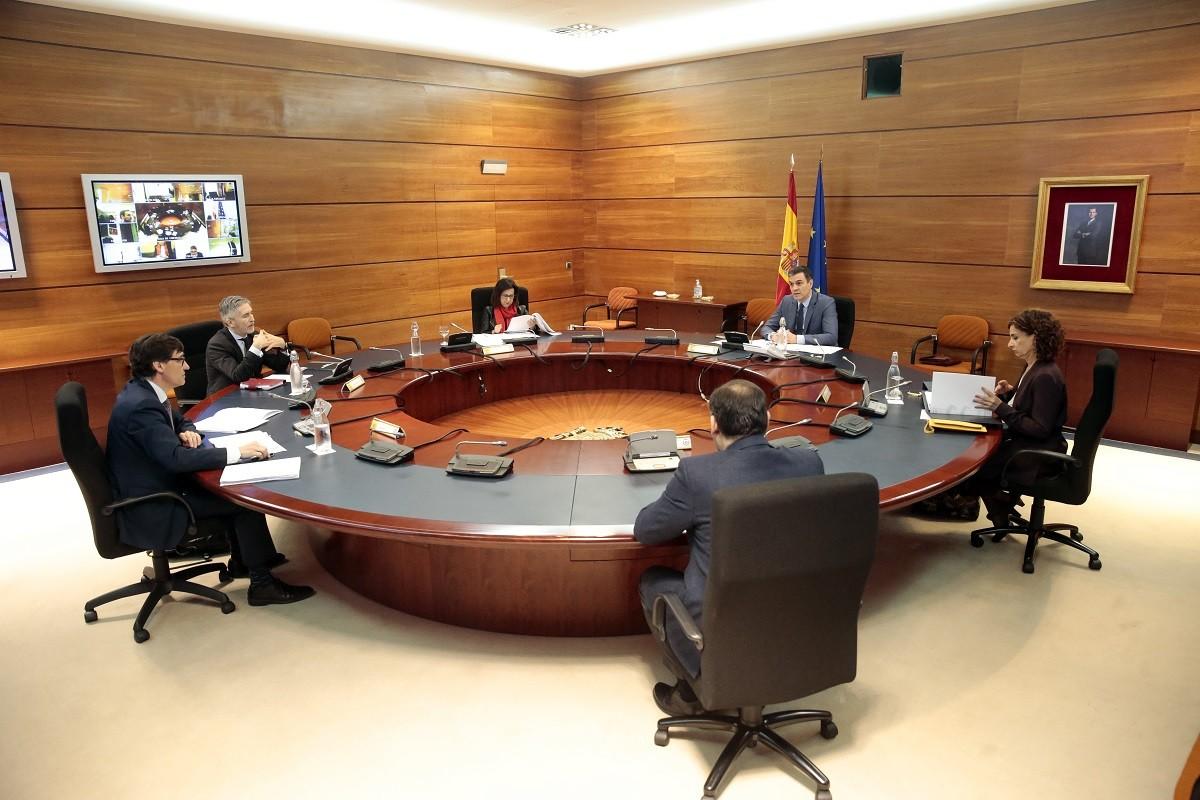 La reunió del consell de ministres d'aquest dimarts