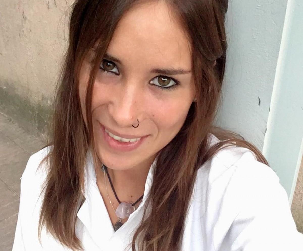 Elisabet Palà, auxiliar d'infermeria de l'Hospital Sant Bernabé de Berga.