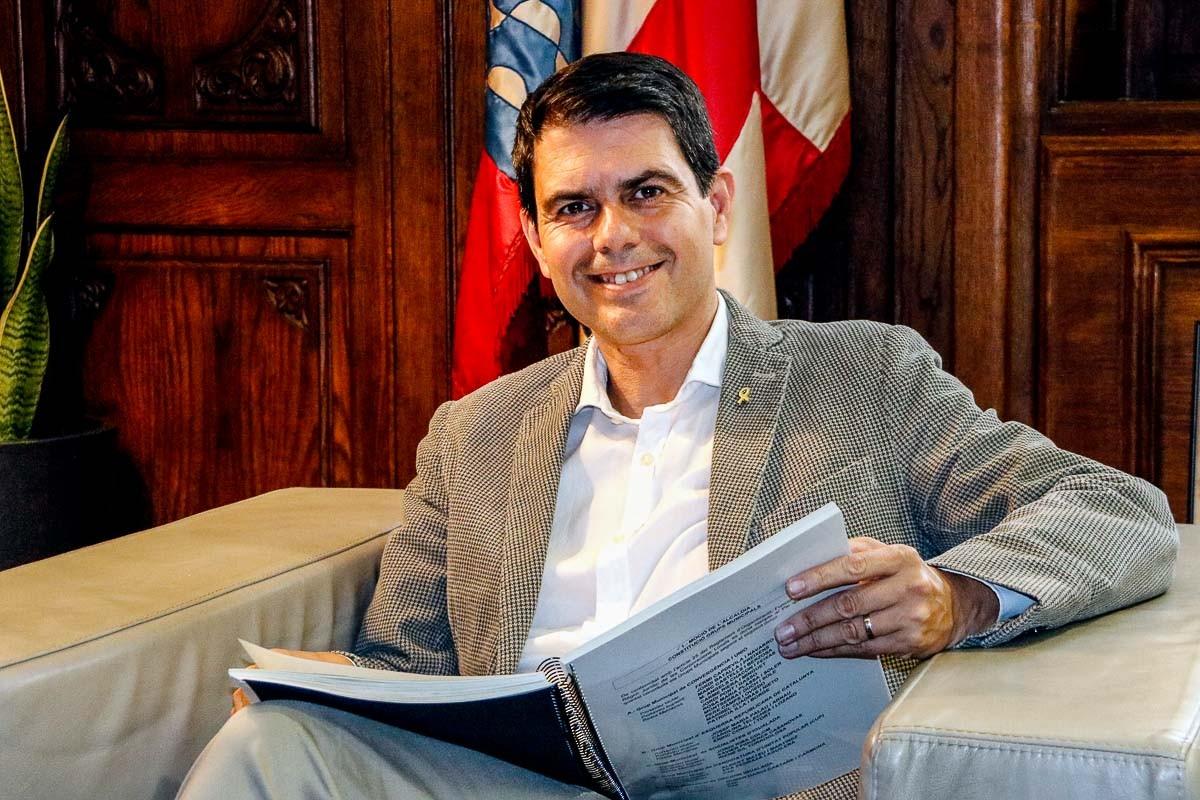 Marc Castells, alcalde d'Igualada
