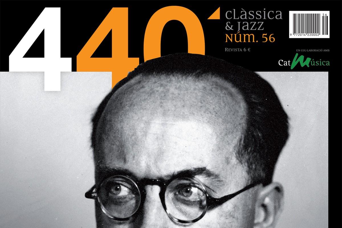 Portada de 440Clàssica&Jazz núm. 56