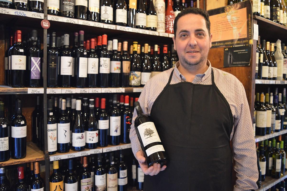 Jordi Vidal, tercera generació de La Vinya, al municipi de Gavà
